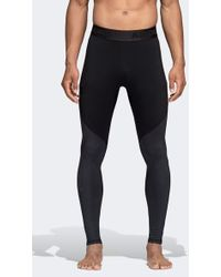 cda38ee4e0e adidas X Undefeated Alphaskin 360 1/1 Tights in Black for Men - Lyst