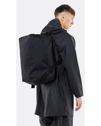 Rains Duffel Backpack Black