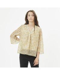 Minimum Branda Long Sleeved Blouse - Multicolour