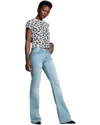 True Religion Lips All Over Crop Top - White