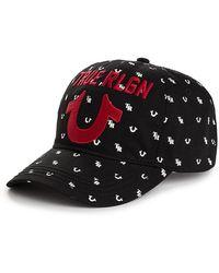1450dd80 True Religion - Monogram Tr U Baseball Cap - Lyst