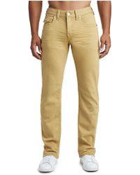 True Religion - Big T Colored Straight Jean - Lyst