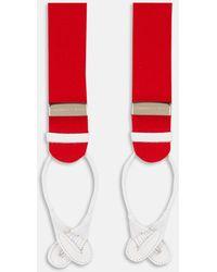 Red Adjustable Felt Braces
