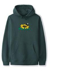 Butter Goods Sunflower Logo Hoodie - Green