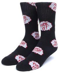 Huf The Motto Socks - Multicolour