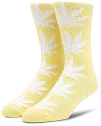 Huf Plantlife Socks - Yellow