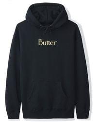 Butter Goods Classic Logo Hoodie - Blue