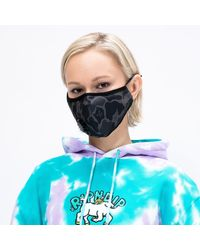 RIPNDIP Rip N Dip Blackout Camo Ventilated Face Mask - Multicolour