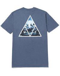 Huf Lupus Noctem T-shirt - Blue