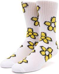 Huf Pushing Daisies Tt Socks - Multicolour
