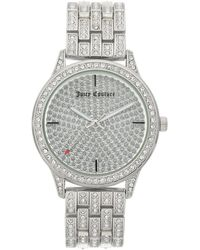 Juicy Couture Silver Women Watches - Metallic