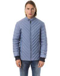 Byblos Titanium Jacket - Blue