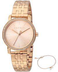 Esprit Rose Gold Watches - Metallic