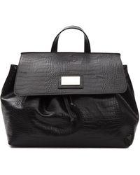 Pompei Donatella Nero Black Handbag