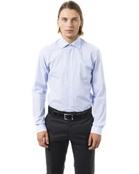 Uominitaliani Cielo Shirt - Blue