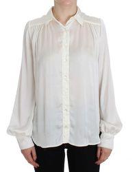Plein Sud Button Down Shirt White Sig32537