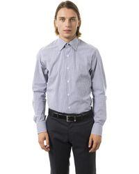 Uominitaliani Blu Shirt - Multicolour