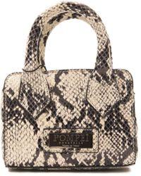 Pompei Donatella Roccia Stone Leather Handbag - Multicolour