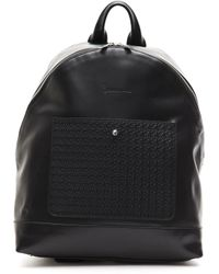 Billionaire Italian Couture Nero Black Backpack