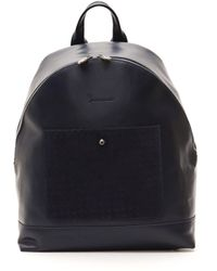Billionaire Italian Couture Navy Navy Backpack - Blue