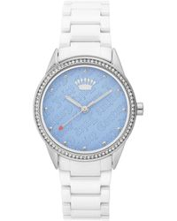 Juicy Couture Silver Watch - Metallic