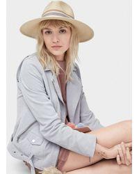 7d5c9d8f180 UGG - Women s Striped Sun Hat - Lyst