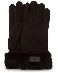 UGG Turn Cuff Handschoenen - Zwart