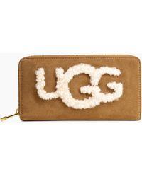 UGG - Women's Honey Sheepskin Wallet - Lyst