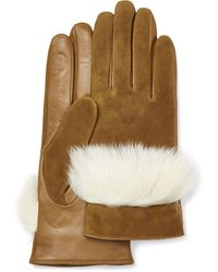 UGG Suede Leather And Sheepsk - Braun