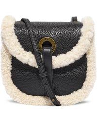 UGG Heritage crossbody leather sacs bandoulière pour - Noir