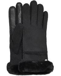 UGG Seamed Tech Handschuhe für - Schwarz