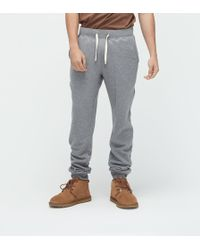 6b7ad537959 Men's Terry Knit Jogger - Gray