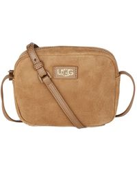 UGG Mini Crossbody Suede Bag - Brown