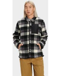 UGG - Keefe Sherpa Jacket Polyester - Lyst