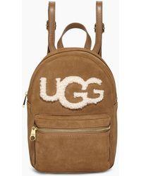 UGG Dannie Mini Backpack Sheepskin - Brown