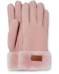 UGG Turn Cuff Glove - Pink