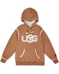 UGG X Telfar Logo Hoodie - Braun