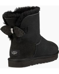 UGG - Sparkle Bow Mini Boot - Lyst