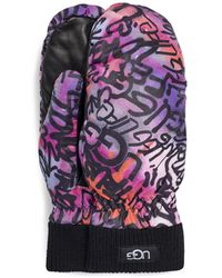 UGG Graffiti All Weather Handschuhe für Größe S/M (Ohne Verpackung) - Mehrfarbig