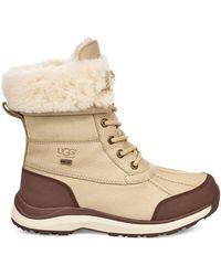 UGG Winterstiefel Adirondack III Warme Stiefel aus Leder in Beige Größe 36 - Natur