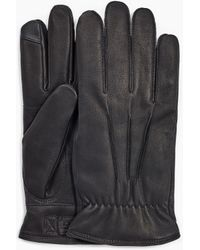 UGG 3 Point Leather Glove 3 Point Leather Glove - Black