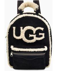 UGG Dannie Sheepskin Backpack - Black