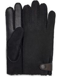 UGG Sheepskin Side Tab Tech Handschoenen - Zwart