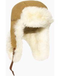 UGG Long Pile Sheepskin Trapper Long Pile Sheepskin Trapper - Brown