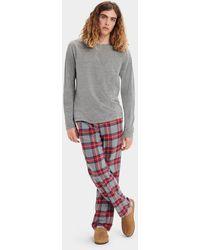 UGG Steiner Pyjama Set Gift Box - Grey