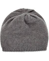UGG Hendrix Popcorn Stitch Hat Cashmere - Gray
