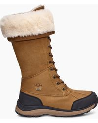 f2c3a0ce3 UGG Women's Adirondack Tall Iii Snake in White - Lyst
