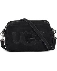 UGG Janey Ii Logo Crossbody Handtassen - Zwart