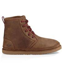 UGG Harkley Wasserdichte Classic Stiefel für aus Leder - Braun