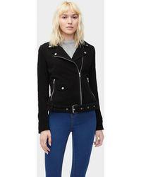UGG - Women's Stacey Suede Moto Jacket - Lyst